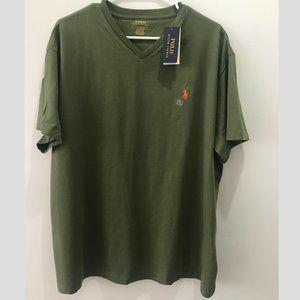 New Men's Polo Ralph Lauren V-Neck Shirt
